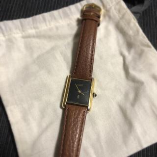 カルティエ(Cartier)のアンティーク カルティエマストタンク 手巻き時計(腕時計)