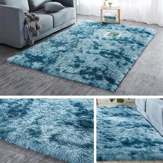 カーペット 洗えるラグ 滑り止め付 ラグマット 120x160 約2畳 絨毯 折