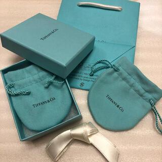 Tiffany & Co. - 【未使用・保管品】ティファニー 空箱 巾着 紙袋 リボン アクセサリー ポーチ