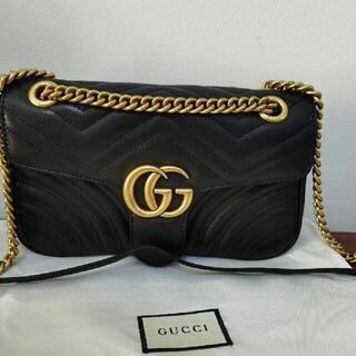 グッチ(Gucci)のGUCCI GGマーモントバッグ(ショルダーバッグ)