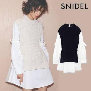 snidel - SNIDELシャツワンピース