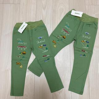 クレードスコープ(kladskap)の新品 110 120 クレードスコープ 刺繍 パンツ ズボン(パンツ/スパッツ)