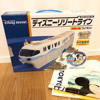 Disney - 【新品未開封】ディズニーリゾートライン プレイセット プラレール ショップ袋付