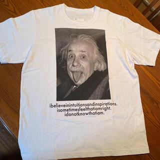 サカイ(sacai)のsacai アインシュタイン Tシャツ 白 サイズ4  希少(Tシャツ/カットソー(半袖/袖なし))