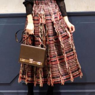 IENA - iena la boucle ツイードスカート