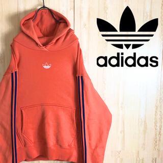 adidas - adidas アディダス パーカー 大きめ レアカラー 美品