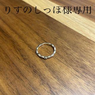 アガット(agete)の★りすのしっぽ様専用★アガット ダイヤピンキーリング(リング(指輪))