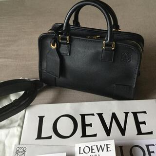 LOEWE - ロエベアマソナ23ブラック美品ショルダーバッグハンドバッグ2way