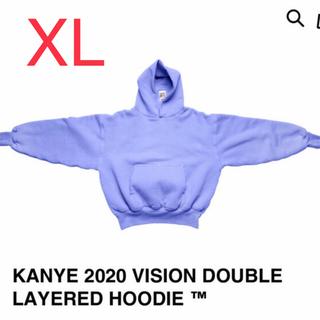 adidas - Kanye west 2020 vision アメリカ有権者用 パーカ XL