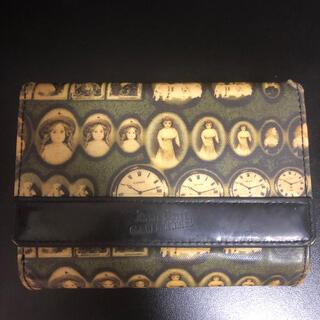 ジャンポールゴルチエ(Jean-Paul GAULTIER)の期間限定お値下げ❣️ジャンポールゴルチエ財布アンティークドール ⚠️used  (折り財布)