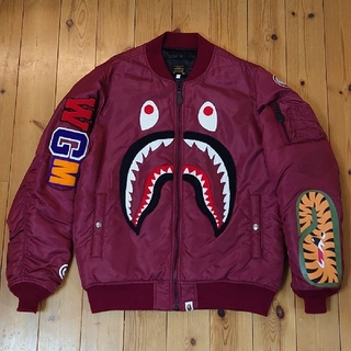 A BATHING APE - A BATHING APE シャーク ma1