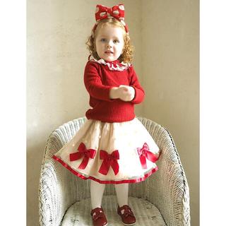 Shirley Temple - シャーリーテンプル  リボンスカート カットソー セット売り 120