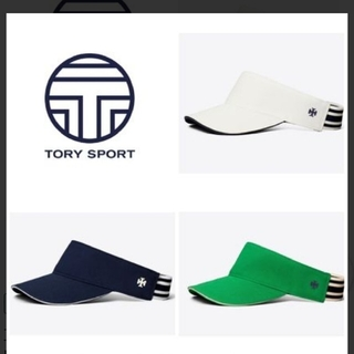 アディダスバイステラマッカートニー(adidas by Stella McCartney)のトリースポーツ ネイビー サンバイザー(ウェア)