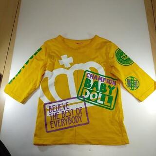 ベビードール(BABYDOLL)の110cmサイズ ベビードール 七分袖Tシャツ(Tシャツ/カットソー)