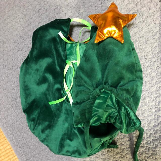 クリスマス ツリー 着ぐるみ コスプレ 寝相アート ベビー 仮装 ロンパース キッズ/ベビー/マタニティのベビー服(~85cm)(ロンパース)の商品写真