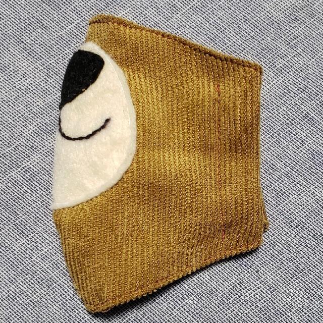 子供用サイズのインナーマスク ハンドメイドのキッズ/ベビー(外出用品)の商品写真