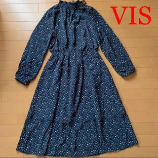 ViS - ViS 花柄ロングワンピース