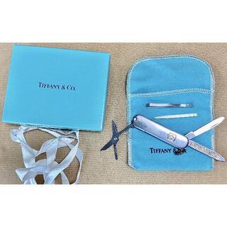Tiffany & Co. - ティファニー アーミーナイフ Tiffany&Victorinox シルバー