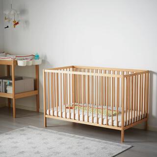 IKEA - イケア  ベビーベット マットレス ガード 3点セット