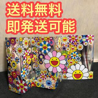 村上隆 カイカイキキ kaikaikiki お花 クッション ポストカード(キャラクターグッズ)
