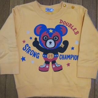 ダブルビー(DOUBLE.B)のミキハウス ダブルB トレーナー 90㎝(Tシャツ/カットソー)