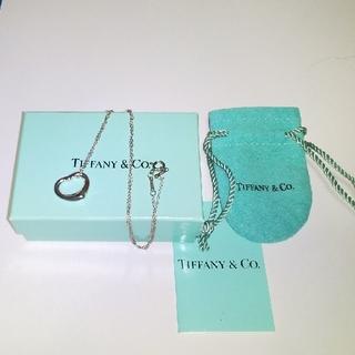 Tiffany & Co. - Tiffany シルバー オープンハートネックレス