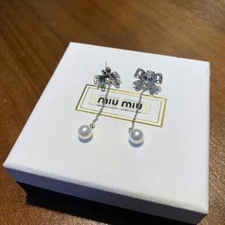 ミュウミュウ(miumiu)のMIUMIU  ピアス(ピアス)