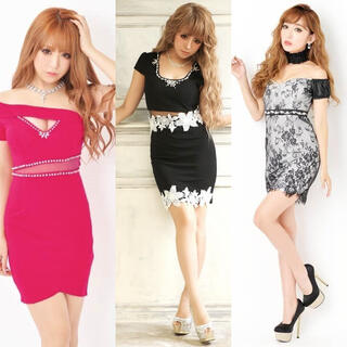 dazzy store - キャバ ドレス セット