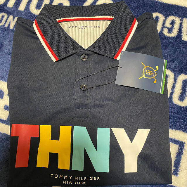 TOMMY HILFIGER(トミーヒルフィガー)のTOMMY ゴルフウェア 半袖 未使用 スポーツ/アウトドアのゴルフ(ウエア)の商品写真