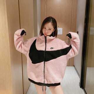 値下げ!Nike boa jacket ナイキ ボアジャケット ブルゾンフリース(その他)
