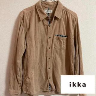 イッカ(ikka)のコーデュロイシャツ ベージュ(シャツ)