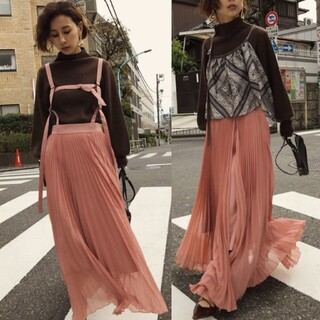 Ameri VINTAGE - Ameri【タグ付新品】ハーネスサスペンダースカート