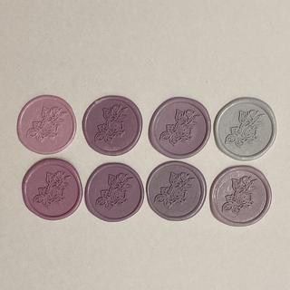シーリングスタンプ 薔薇 8個セット(カード/レター/ラッピング)