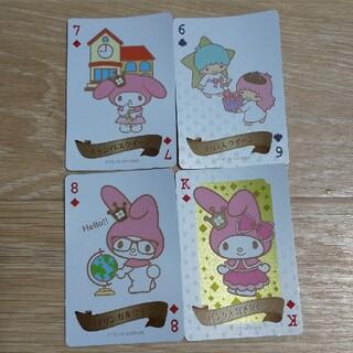 サンリオ - クイーンカード 4枚 サンリオ マイメロディ キキララ