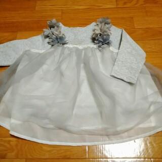 プティマイン(petit main)のプティマイン シフォンキャミ付きトップス(Tシャツ/カットソー)