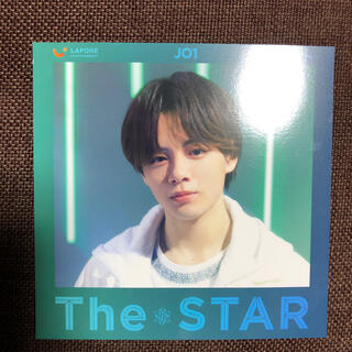 JO1 The star Green盤 鶴房汐恩 アザージャケット(アイドルグッズ)
