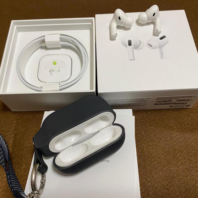 Apple(アップル)の【中古】Apple AirPods Pro MWP22J/A スマホ/家電/カメラのオーディオ機器(ヘッドフォン/イヤフォン)の商品写真