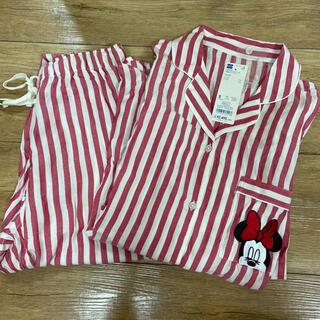 GU - ミニー GU パジャマ 新品未使用 タグ付き 赤 s 長袖