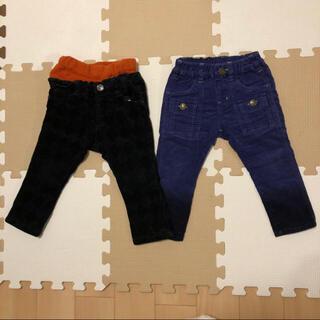 エフオーキッズ(F.O.KIDS)の男の子 パンツ 二枚組 90サイズ(パンツ/スパッツ)