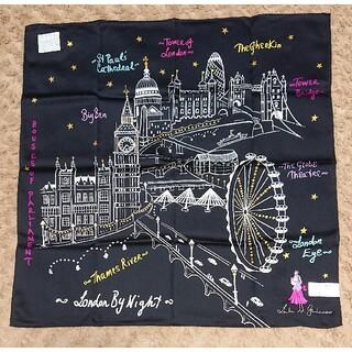 LULU GUINNESS - 《未使用》LULU GUINESS ハンカチ 刺繍