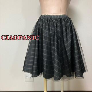 Ciaopanic - CIAOPANIC♡チェック柄チュールスカート