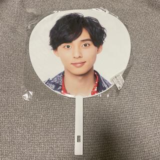 キスマイフットツー(Kis-My-Ft2)の藤ヶ谷太輔 うちわ LIVE TOUR2018 yummy!!you&me(アイドルグッズ)
