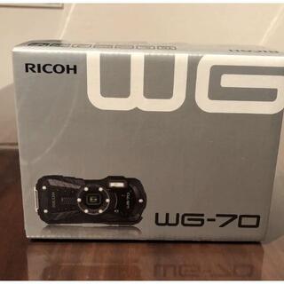 RICOH - RICOHWG-70[ブラック]