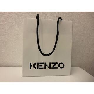 ケンゾー(KENZO)の未使用品 KENZO ケンゾー ロゴショッパー ショップ袋 ホワイト 小(その他)