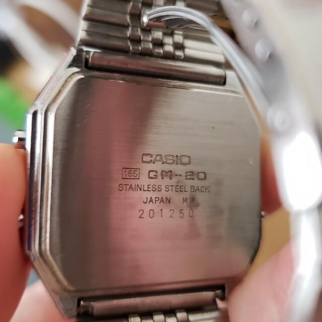 CASIO(カシオ)の【CASIO GM-20】 メンズの時計(腕時計(デジタル))の商品写真