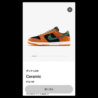 NIKE - NIKE DUNK LOW SP CERAMIC 28.5cm ナイキダンク