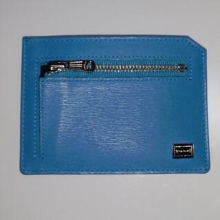 ポーター(PORTER)のPORTER Wallet ウォレット ミニウォレット sky blue (折り財布)