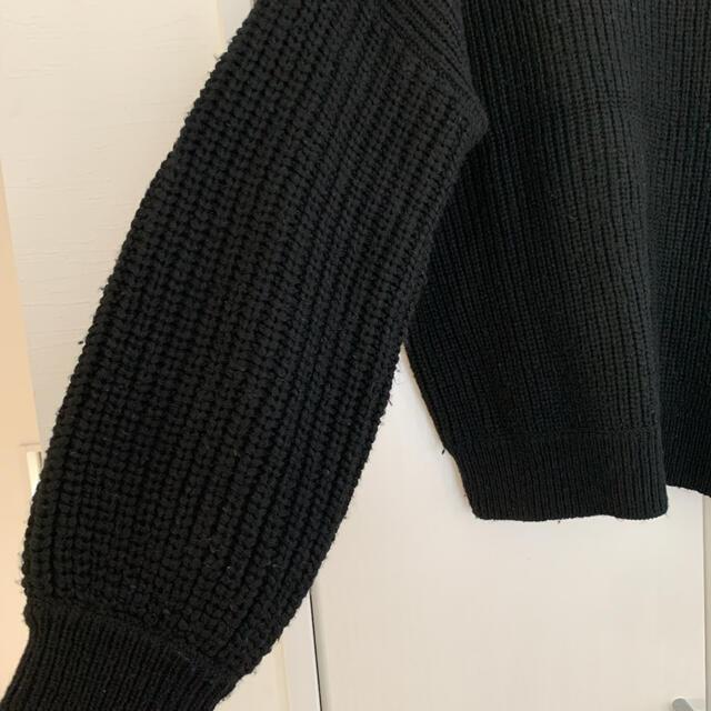 ALEXIA STAM(アリシアスタン)のアリシアスタン ボリュームスリーブニット レディースのトップス(ニット/セーター)の商品写真
