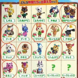 フルタセイカ(フルタ製菓)のどうぶつの森★チョコエッグ★(ゲームキャラクター)