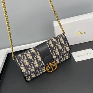 クリスチャンディオール(Christian Dior)のクリスチャンディオール チェーンウォレット ショルダーバッグ(財布)
